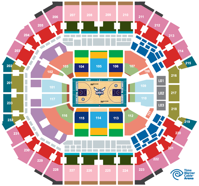 Hornets seating chart hobit fullring co